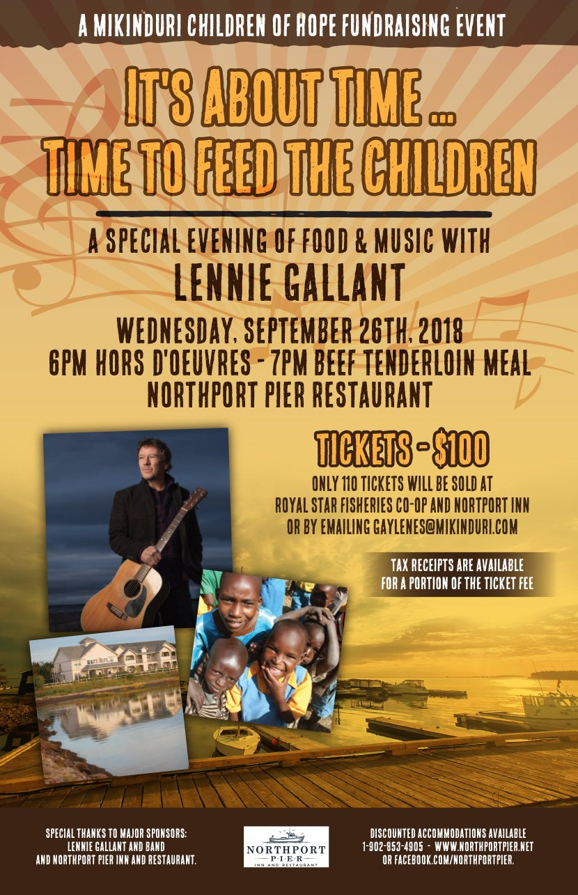 Mikinduri-Feed-the-Children-Event with Lenny Gallant