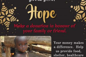 Looking for a Last Minute Christmas Gift? Give hope. poster